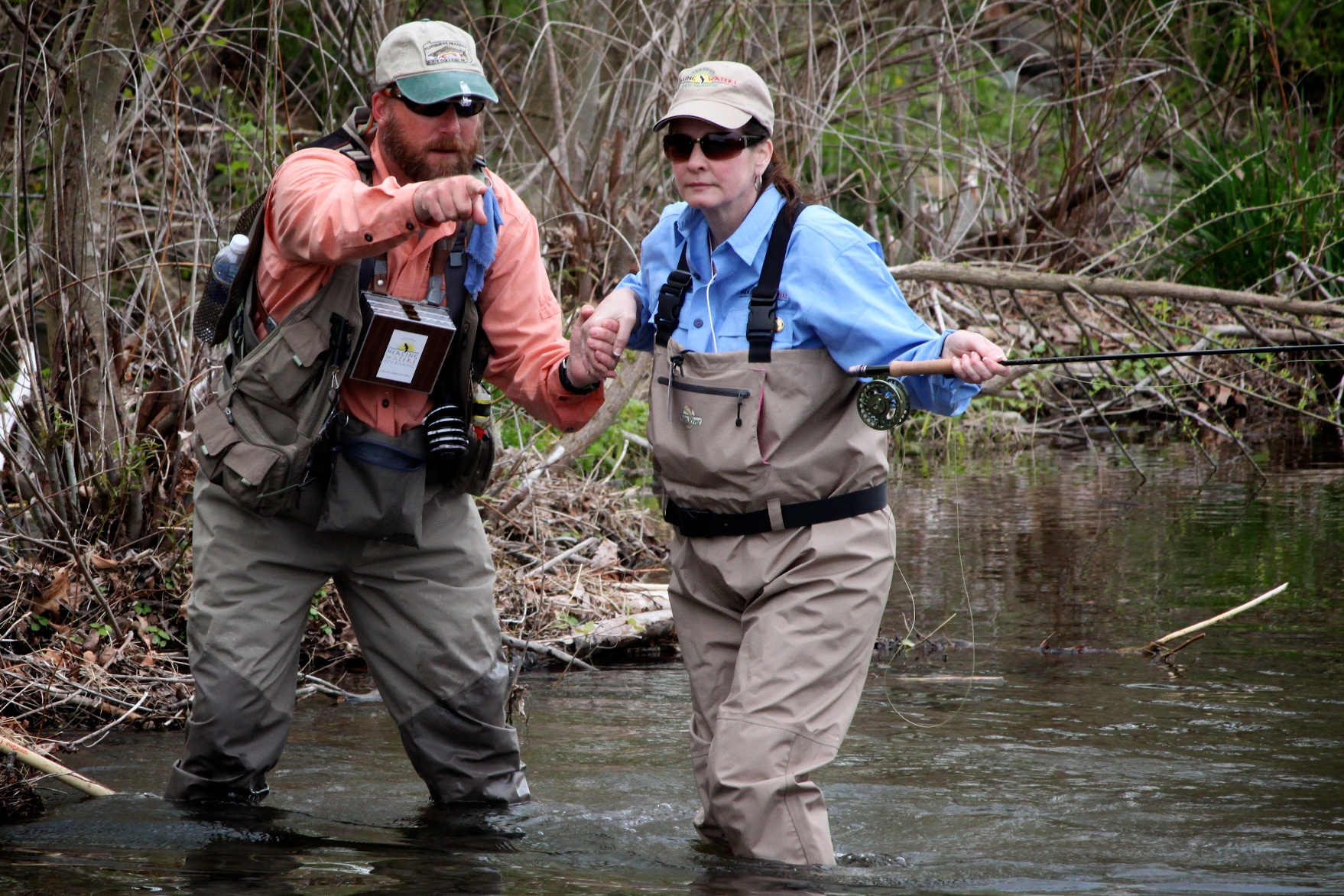 Charity dispatches from the potomac for Fly fishing jobs
